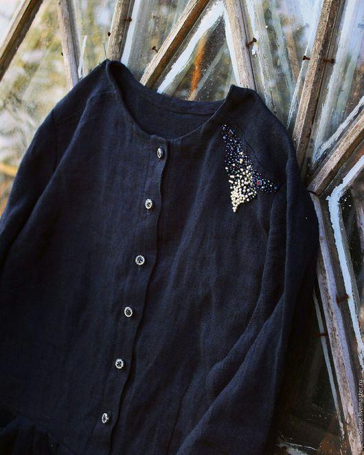 """Платья ручной работы. Ярмарка Мастеров - ручная работа. Купить Платье """"Дорога дождя"""". Handmade. Платье нарядное, свободная одежда"""