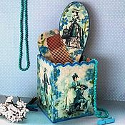 Сувениры и подарки handmade. Livemaster - original item Set Nezabudkovy. Handmade.