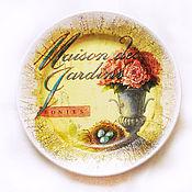 """Посуда ручной работы. Ярмарка Мастеров - ручная работа Тарелка """"Мезонин"""". Handmade."""