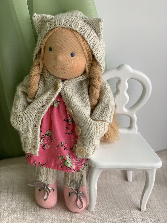 Julia - Waldorf doll (30 cm.), Waldorf Dolls & Animals, Samara,  Фото №1