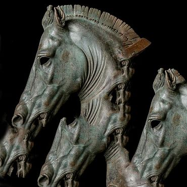 Для дома и интерьера ручной работы. Ярмарка Мастеров - ручная работа Скульптуры: Кони. Handmade.