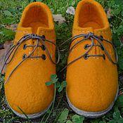 """Обувь ручной работы. Ярмарка Мастеров - ручная работа Туфли  валяные """"Настроение"""".. Handmade."""
