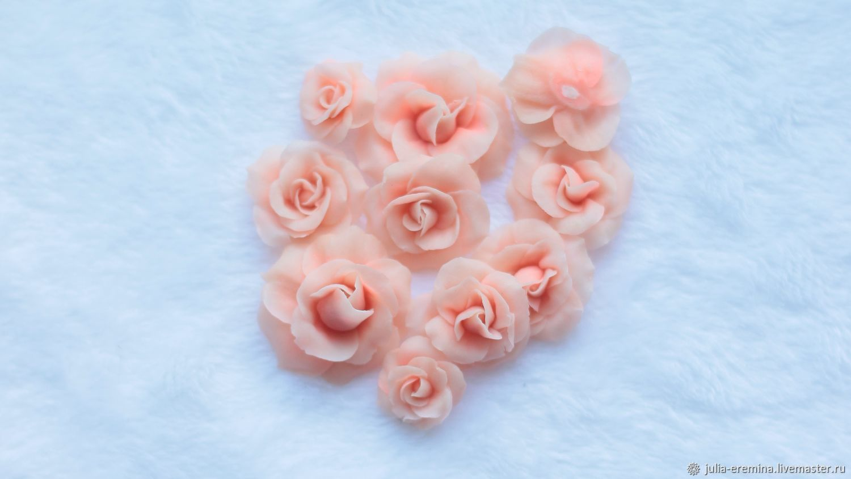 Розы из полимерной глины, Аппликации, Тула,  Фото №1
