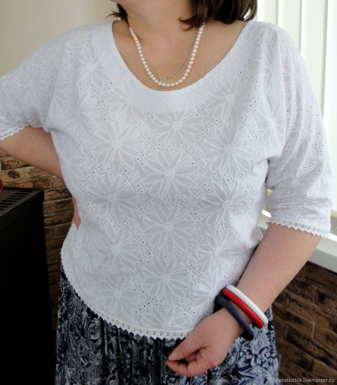 9e91baa73b7 Blouses handmade. Livemaster - handmade. Buy Blouse white from sewing 2. White ...