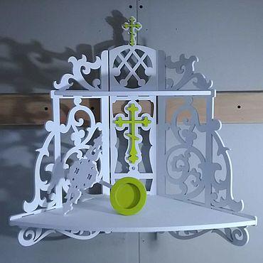 Мебель ручной работы. Ярмарка Мастеров - ручная работа Полка для икон  НАСТЯ. Handmade.