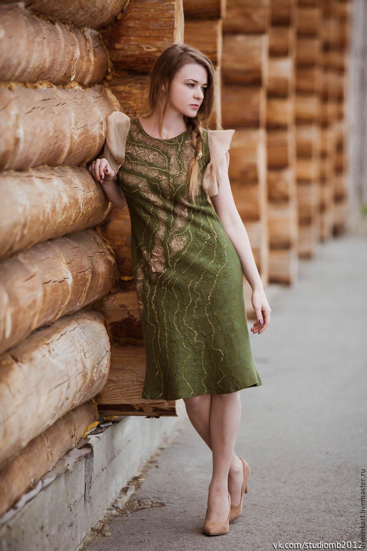 """Валяное платье """"Алёнушка"""", Платья, Тюмень,  Фото №1"""