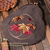 Сумки и аксессуары handmade. Livemaster - original item Momiji Cosmetic Bag. Handmade.