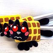 Куклы и игрушки handmade. Livemaster - original item Tac nayn TAC Nyan mini, soft toy Nyan cat Nyan Cat. Handmade.