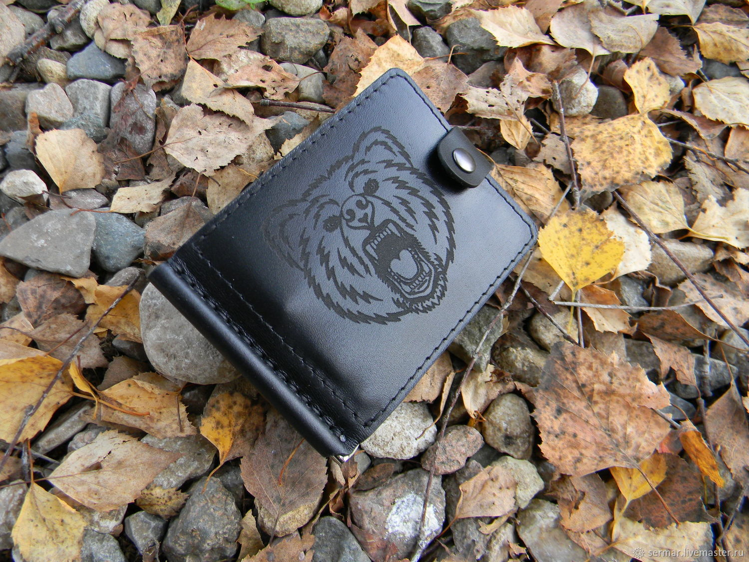 Money clip with engraving, Clamps, Kineshma,  Фото №1