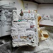 """Блокноты ручной работы. Ярмарка Мастеров - ручная работа Блокнот (moomin book)  """"Муми-Мама и море"""". Handmade."""
