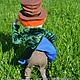 """Сказочные персонажи ручной работы. Шляпник и мышь Соня из """"Алисы..."""". Жанна Бугрова. Ярмарка Мастеров. Мышь, игрушка из шерсти"""