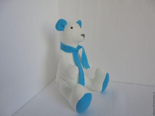 Игрушки животные, ручной работы. Ярмарка Мастеров - ручная работа. Купить мишка белый. Handmade. Белый, мишка ручной работы