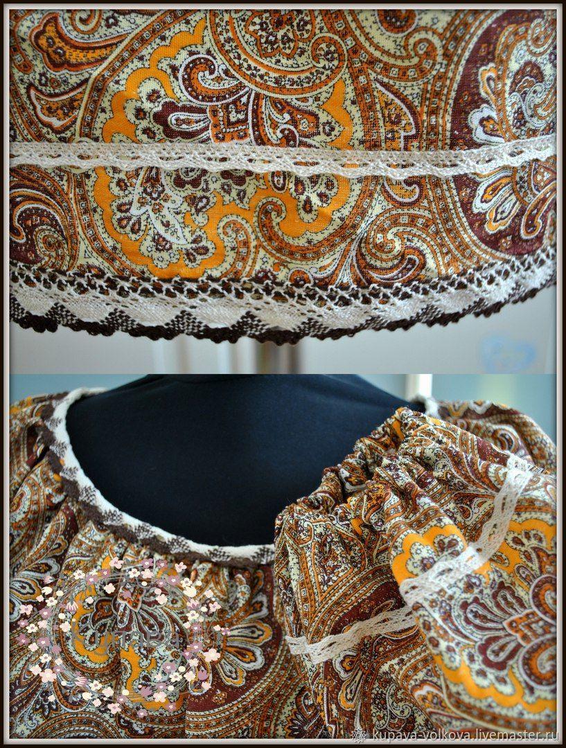 Blouse tunic Patterned from hlaka in boho style, Blouses, Anapa,  Фото №1