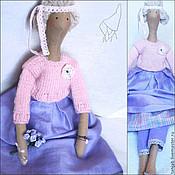 Куклы и игрушки ручной работы. Ярмарка Мастеров - ручная работа Викки - кукла стиле Тильда. Handmade.