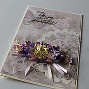 Открытки ручной работы. Ярмарка Мастеров - ручная работа Поздравительная открытка. Handmade.