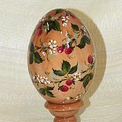 Подарки к праздникам ручной работы. Ярмарка Мастеров - ручная работа Пасхальное яйцо Ягодка Малинка. Handmade.