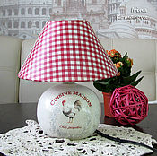 Для дома и интерьера handmade. Livemaster - original item lamp in country style. Handmade.