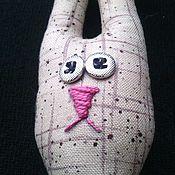 Мягкие игрушки ручной работы. Ярмарка Мастеров - ручная работа ЗАЯЦ. А, вот, зайца кому?!..... Handmade.