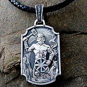 Украшения handmade. Livemaster - original item Pendant / Amulet Svarog-Tree Genus of silver 925. Handmade.