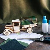 handmade. Livemaster - original item Designer truck Gas AA Awning. Handmade.