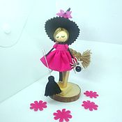 Украшения handmade. Livemaster - original item Witch Brooch doll. Handmade.