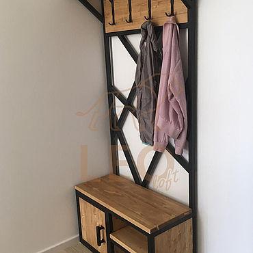 Мебель ручной работы. Ярмарка Мастеров - ручная работа Вешалка в интерьере. Handmade.