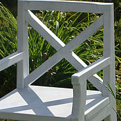 Для дома и интерьера handmade. Livemaster - original item Chair with armrest from an array of Morning Provence. Handmade.
