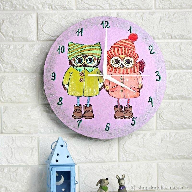 Sowosky wall clock, clock, handmade, baby, Watch, Novosibirsk,  Фото №1