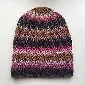 Аксессуары handmade. Livemaster - original item knitted hat, beanie. Handmade.