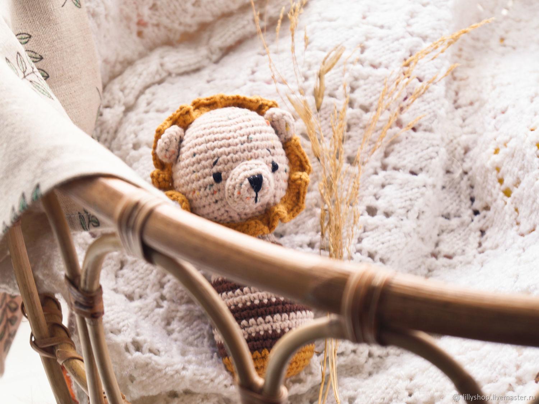 Погремушка крючком - Львенок, Погремушки, Санкт-Петербург,  Фото №1