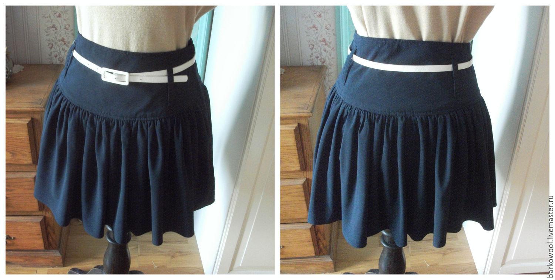 Широкий пояс кокетка юбка