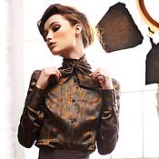 """Одежда ручной работы. Ярмарка Мастеров - ручная работа Блузка """"Олива"""". Handmade."""