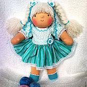 Куклы и игрушки ручной работы. Ярмарка Мастеров - ручная работа Бирюзинка, 36 см. Handmade.
