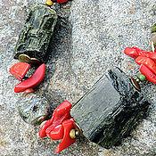 Украшения ручной работы. Ярмарка Мастеров - ручная работа Ожерелье Доннемара. Handmade.