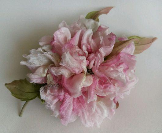 """Цветы ручной работы. Ярмарка Мастеров - ручная работа. Купить Цветы из ткани. Шелковые цветы. Роза """"Флорина"""". Handmade."""