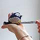 Игрушки животные, ручной работы. Заказать Птичка синичка - красивая мягкая игрушка.. Galka - toys. Ярмарка Мастеров. Фото синички