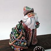 Сувениры и подарки handmade. Livemaster - original item Santa Claus with Christmas tree. Handmade.