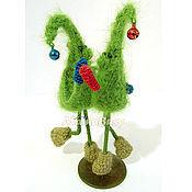 Подарки к праздникам ручной работы. Ярмарка Мастеров - ручная работа Эмоушен-Ёлочки: Танцующая парочка в подарочной упаковке. Handmade.