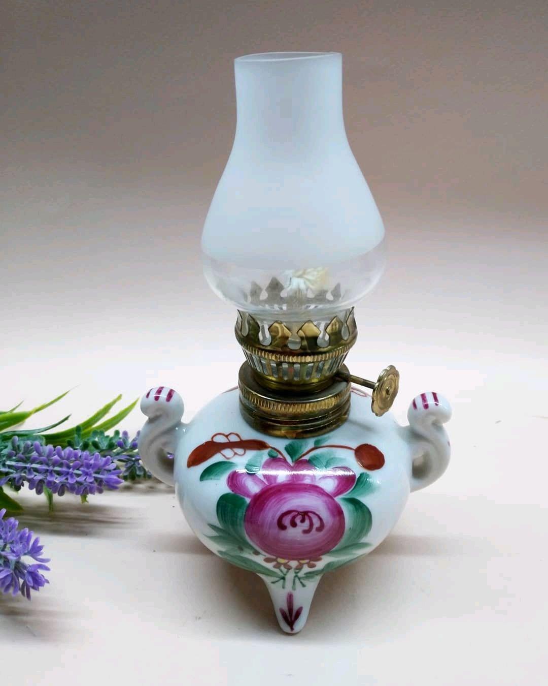 Винтаж: Керосиновая лампа. Европа, Винтажные предметы интерьера, Пенза, Фото №1