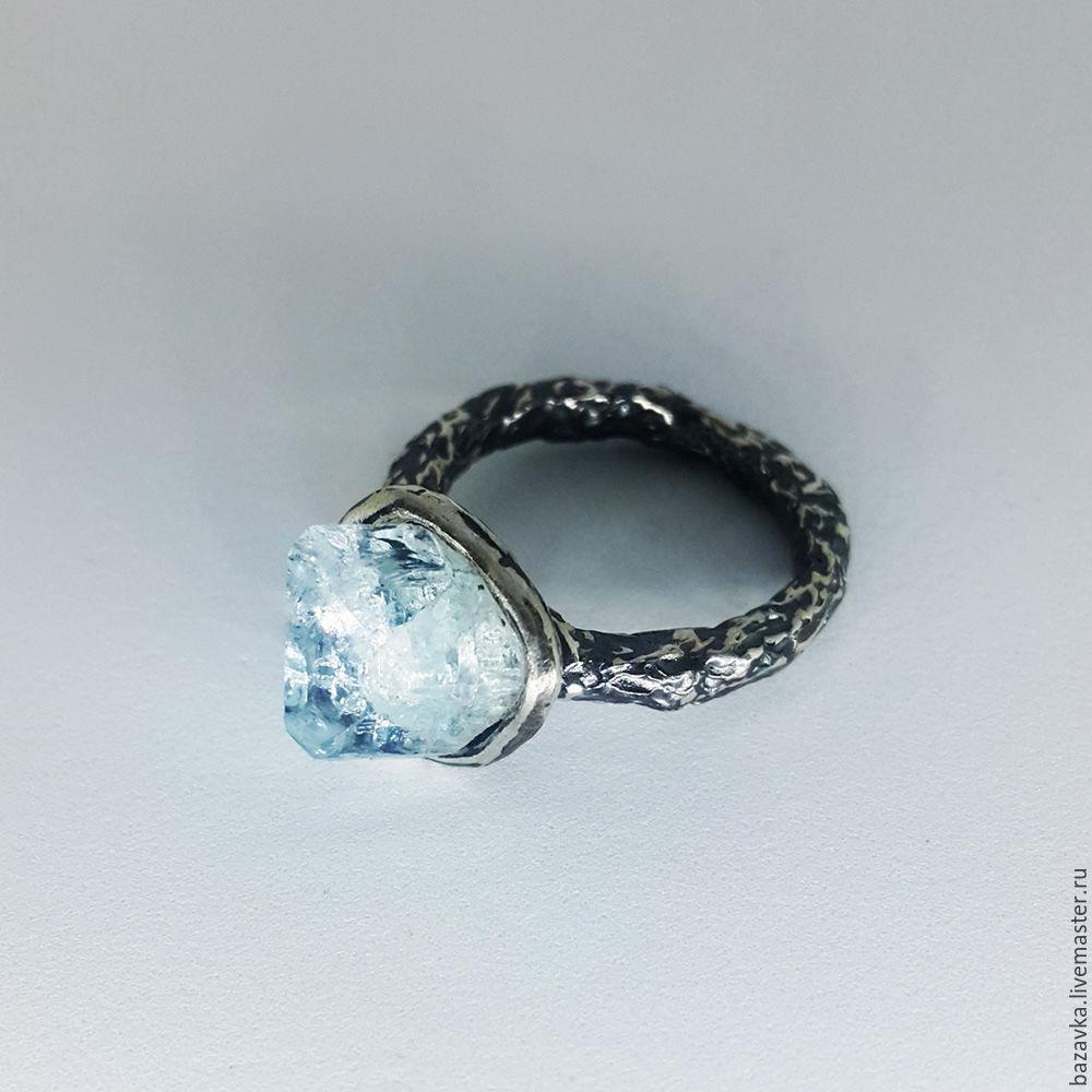 кольца с топазом серебро