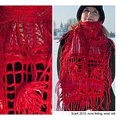 Аксессуары ручной работы. Ярмарка Мастеров - ручная работа Дизайнерский шарф ручной работы. Handmade.