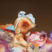 Куклы и игрушки ручной работы. Ярмарка Мастеров - ручная работа Плюшевая собачка. Handmade.