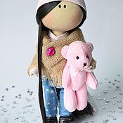 Тыквоголовка ручной работы. Ярмарка Мастеров - ручная работа Куклы: Интерьерные. Handmade.