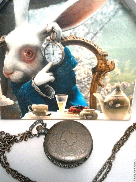 "Часы ручной работы. Ярмарка Мастеров - ручная работа. Купить Часы карманные ""Герб из бронзы"". Handmade. Часы, часы на цепочке"