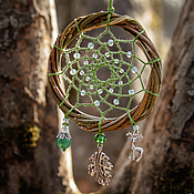 """Фен-шуй и эзотерика ручной работы. Ярмарка Мастеров - ручная работа Ловец снов """"Fairy Green"""". Handmade."""