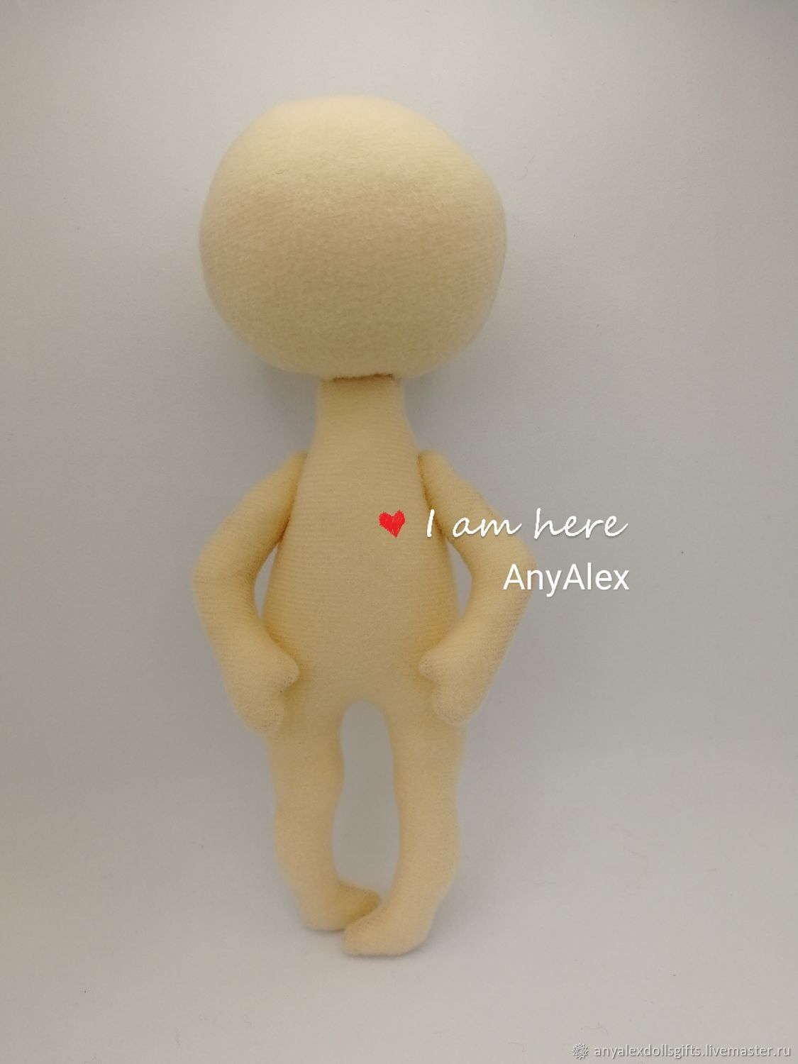 blank 18 cm, Blanks for dolls and toys, Achinsk,  Фото №1
