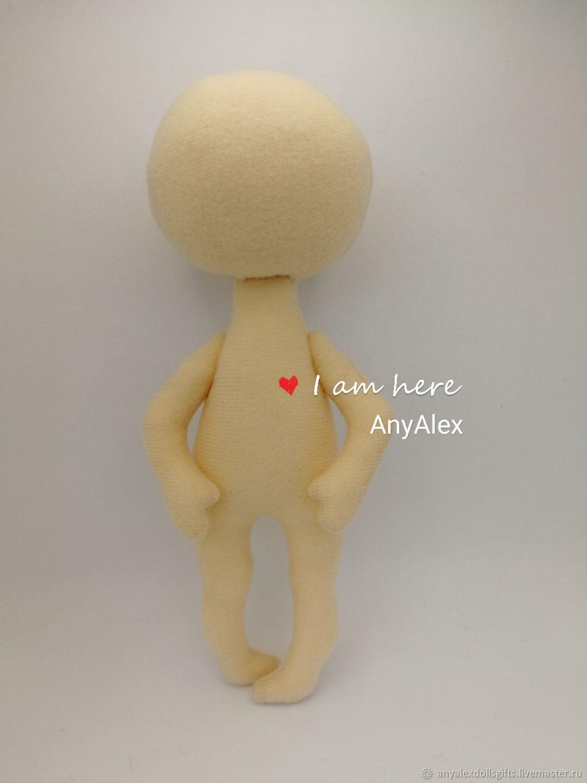 Заготовка куклы 18 см, Заготовки для кукол и игрушек, Ачинск,  Фото №1