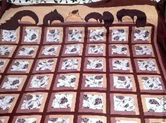 Персональные подарки ручной работы. Ярмарка Мастеров - ручная работа. Купить Лоскутное покрывало Вот оно - Счастье № 451. Handmade.