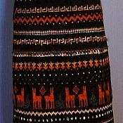 """Одежда ручной работы. Ярмарка Мастеров - ручная работа Юбка """"Ламы в городе"""". Handmade."""
