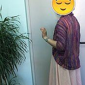 """Одежда ручной работы. Ярмарка Мастеров - ручная работа Кардиган кокон """"осенняя радуга"""". Handmade."""